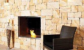 EcoOutdoor Kitchen Interior Designs Fireplace Insert Idea