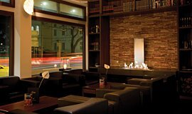 Flemings Hotel Linear Fires Ethanol Burner Idea