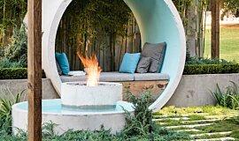 AD Design Landscape Fireplaces Ethanol Burner Idea