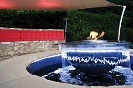 AB8 (EN) Outdoor Fireplace - In-Situ Image by EcoSmart Fire