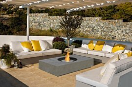 Martini Fire Pit - In-Situ Image by EcoSmart Fire