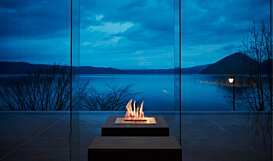 BK5 Indoor Fireplace - In-Situ Image by EcoSmart Fire