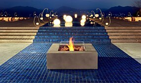 Commercial Space - Base 40 Fire Table by EcoSmart Fire