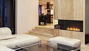 Flex 122LC.BXR Flex Fireplace - In-Situ Image by EcoSmart Fire