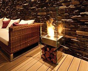 Stilhof - Ghost Designer Fireplace by EcoSmart Fire