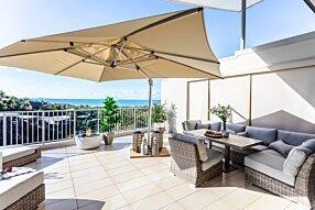 Outdoor Balcony - Pod 30 Fire Table by EcoSmart Fire