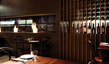 Hurricane's Grill & Bar - Hospitality Fireplaces
