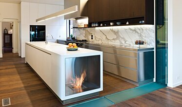 Celebrity Chef's Kitchen - Residential Fireplaces