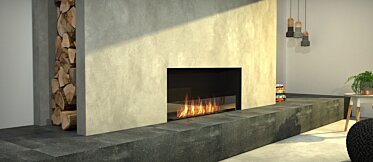 Living Area - Commercial Fireplaces