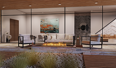 Outdoor Setting - Residential Fireplaces