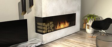 Living Room - Residential Fireplaces