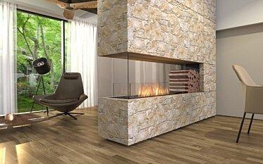 Flex 68PN.BXR Peninsula - In-Situ Image by EcoSmart Fire
