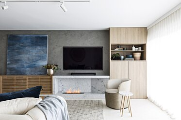 SJS Interior Design - Residential Fireplaces