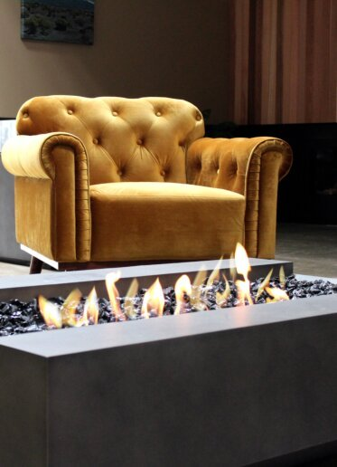 Private Residence - Commercial Fireplaces
