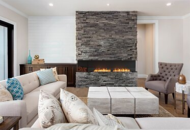 Lounge Room - Residential Fireplaces