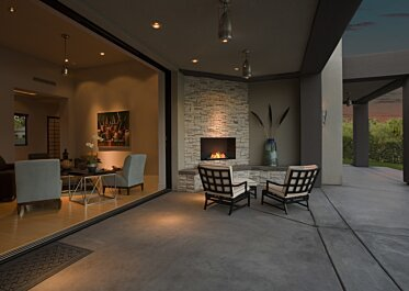 Outdoor Space - Residential Fireplaces