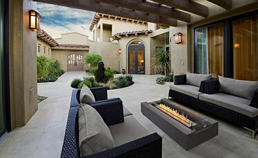 Courtyard - Residential Fireplaces