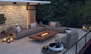 Outdoor entertaining space - Residential Fireplaces