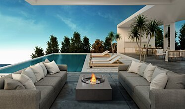 Poolside - Residential Fireplaces