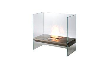 Igloo Freestanding Fireplace - Studio Image by EcoSmart Fire
