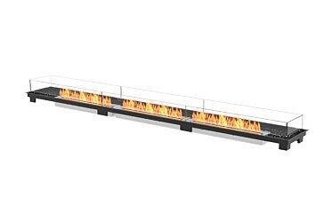 Linear 130 Fire Pit - Studio Image by EcoSmart Fire