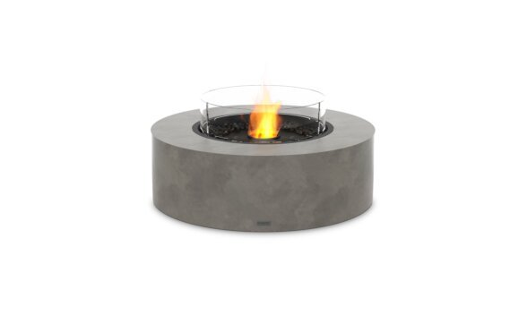 Ark 40 Fire Table - Ethanol - Black / Natural / Optional Fire Screen by EcoSmart Fire