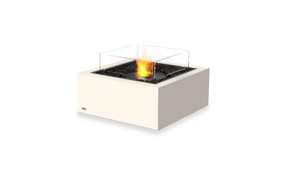 Base 30 Fire Table - Ethanol - Black / Bone / Optional Fire Screen by EcoSmart Fire