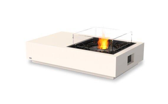 Manhattan 50 Fire Table - Ethanol - Black / Bone / Optional Fire Screen by EcoSmart Fire