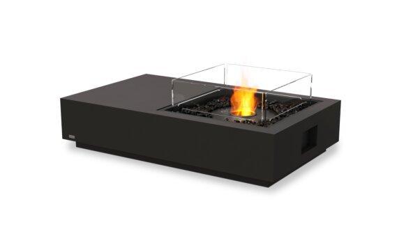 Manhattan 50 Fire Table - Ethanol - Black / Graphite / Optional Fire Screen by EcoSmart Fire