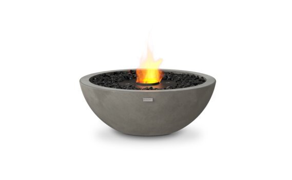 Mix 600 Fire Pit - Ethanol - Black / Natural by EcoSmart Fire