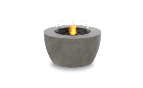 Pod 40 Fire Pit - Ethanol - Black / Natural / Optional Fire Screen by EcoSmart Fire