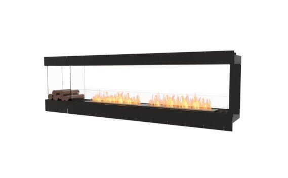 Flex 104PN.BXL Peninsula - Ethanol / Black / Uninstalled View by EcoSmart Fire
