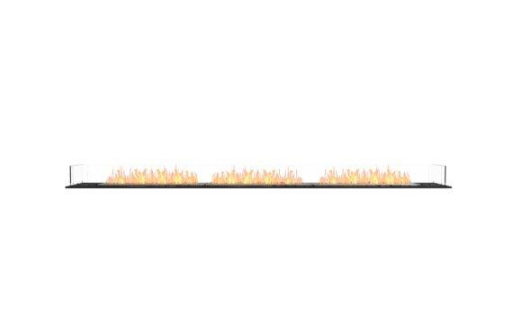 Flex 122BN Bench - Ethanol / Black / Installed View by EcoSmart Fire