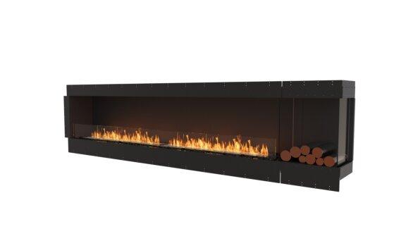 Flex 122RC.BXR Right Corner - Ethanol / Black / Uninstalled View by EcoSmart Fire