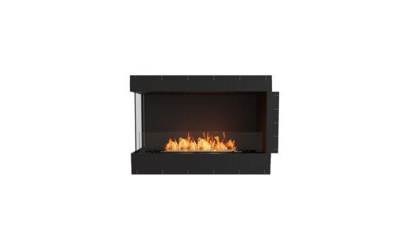 Flex 42LC Left Corner - Ethanol / Black / Uninstalled View by EcoSmart Fire