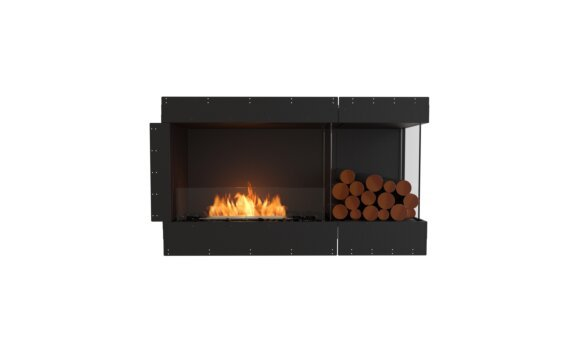 Flex 50RC.BXR Right Corner - Ethanol / Black / Uninstalled View by EcoSmart Fire