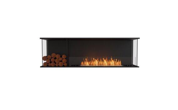 Flex 68 - Ethanol / Black / Installed View by EcoSmart Fire