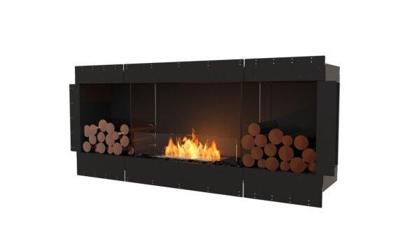 Flex 68SS.BX2 Single Sided - Ethanol / Black / Uninstalled View by EcoSmart Fire