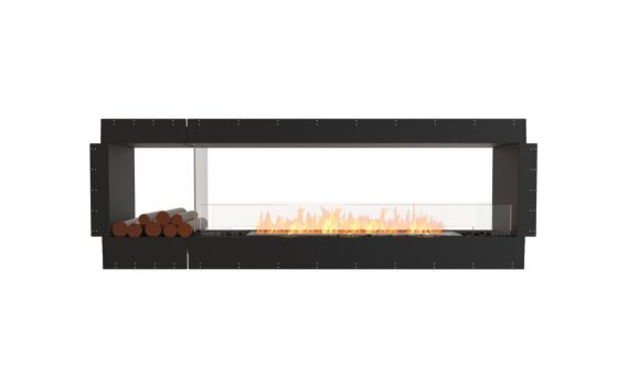 Flex 86DB.BX1 Double Sided - Ethanol / Black / Uninstalled View by EcoSmart Fire