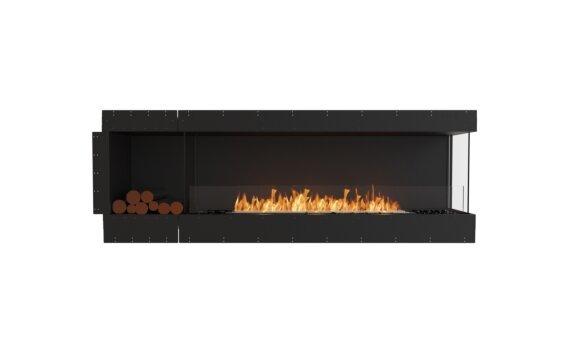 Flex 86RC.BXL Right Corner - Ethanol / Black / Uninstalled View by EcoSmart Fire