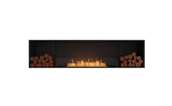Flex 86SS.BX2 Single Sided - Ethanol / Black / Installed View by EcoSmart Fire