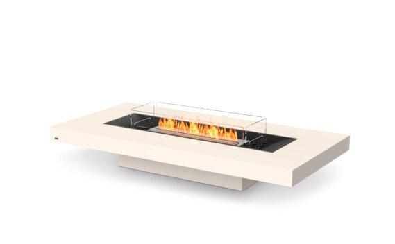 Gin 90 (Low) Fire Table - Ethanol / Bone / Optional Fire Screen by EcoSmart Fire
