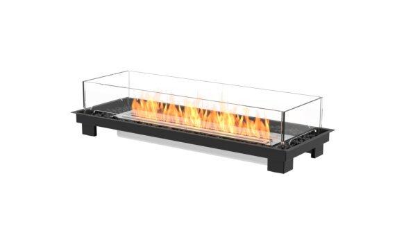 Linear 50 Fire Pit Kit - Ethanol / Black by EcoSmart Fire