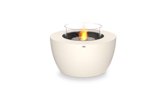 Pod 40 Fire Pit - Ethanol / Bone / Optional Fire Screen by EcoSmart Fire