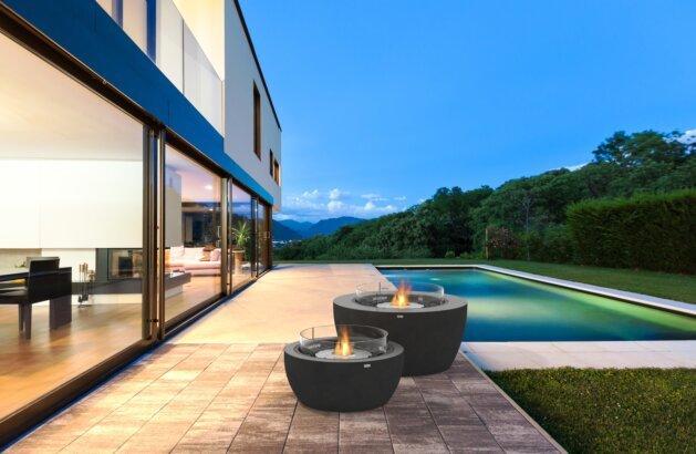Outdoor Deck -   by EcoSmart Fire