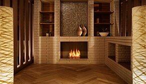Firebox 800SS Fireplace Insert - In-Situ Image by EcoSmart Fire