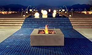Base 40 Fire Table - In-Situ Image by EcoSmart Fire
