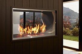 Firebox 1000DB Premium Fireplace - In-Situ Image by EcoSmart Fire