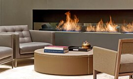 St Regis Hotel Lobby Commercial Fireplaces Ethanol Burner Idea