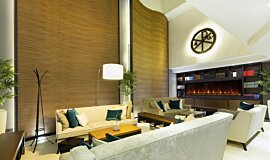 Lobby Hospitality Fireplaces Fireplace Insert Idea